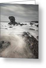 The Milky Sea Greeting Card by Andy Astbury
