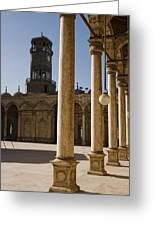 The Mosque Of Mohammed Ali In Saladins Greeting Card by Taylor S. Kennedy