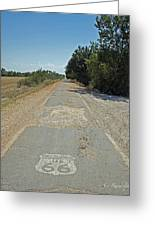 The Mother Road Greeting Card by Cheri Randolph