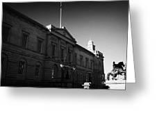 The National Archives Of Scotland General Register House Edinburgh Scotland Uk United Kingdom Greeting Card by Joe Fox