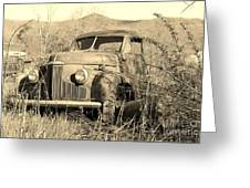 The Ole Studebaker Greeting Card by Laurinda Bowling