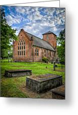 The Other Side Of St Lukes Greeting Card by Williams-Cairns Photography LLC