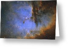 The Pacman Nebula Greeting Card by Ken Crawford