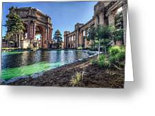 The Palace of Fine Arts Greeting Card by Everet Regal
