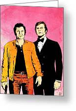The Persuaders Greeting Card by Giuseppe Cristiano