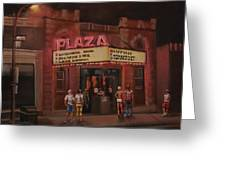 The Plaza Greeting Card by Tom Shropshire