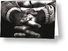 The Prayer Greeting Card by Kenneth Mucke