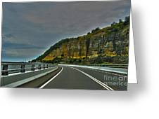 The Road Ahead Greeting Card by Joanne Kocwin