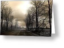 The Road Greeting Card by Elfriede Fulda