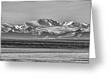 The Rockies Greeting Card by Heather Applegate