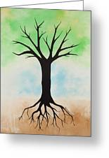 The Root Greeting Card by Jodi Leigh