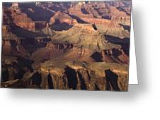 The Rugged Grand Canyon Greeting Card by Andrew Soundarajan