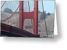 The San Francisco Golden Gate Bridge - 7d19057 Greeting Card by Wingsdomain Art and Photography