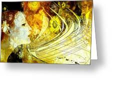 The Second Dream Greeting Card by Van Renselar