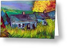 The Shack Greeting Card by Mindy Newman