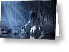 The Siren Greeting Card by Svetlana Sewell