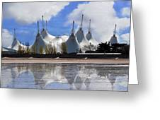 The Skyline Greeting Card by Paul Howarth