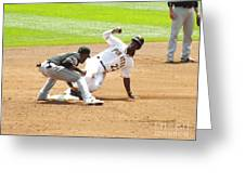 The Slide Greeting Card by Chad Thompson