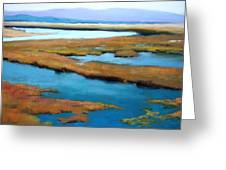 The Slough Greeting Card by Maralyn Miller