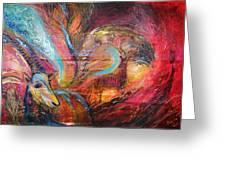 The Spirit Of Ein Gedi Greeting Card by Elena Kotliarker