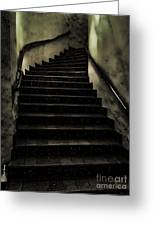 The Stairwell Greeting Card by Cheryl Young