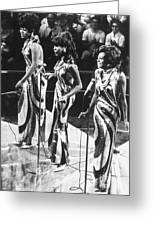 The Supremes, C1963 Greeting Card by Granger