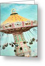 The Swings 2 Greeting Card by Sylvia Cook