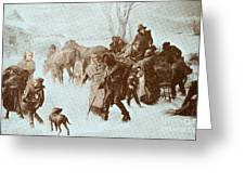 The Underground Railroad Greeting Card by Photo Researchers