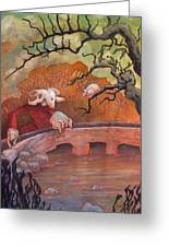 The Water Shepherd Greeting Card by Ethan Harris