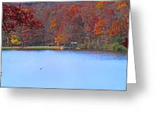 The Watershed Greeting Card by Lynn Bauer