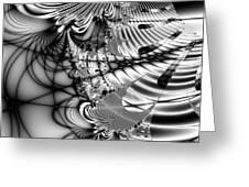 The Web We Weave . Square Greeting Card by Wingsdomain Art and Photography