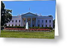 The White House - No. 0341  Greeting Card by Joe Finney