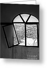 The Window Greeting Card by Cheryl Young
