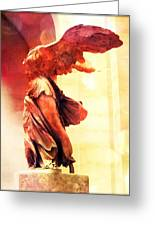The Winged Victory  Greeting Card by Marianna Mills