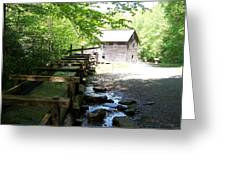 The Working Mill Greeting Card by Regina McLeroy