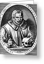 Theodor De Bry (1528-1598) Greeting Card by Granger