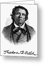 Theodore D. Weld (1803-1895) Greeting Card by Granger