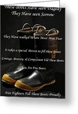 These Boots ... Greeting Card by Ken  Tucker