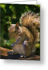 They Are Mine All Mine Greeting Card by Steven Richardson