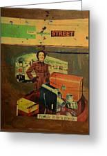 This Dissolving Street Greeting Card by Adam Kissel