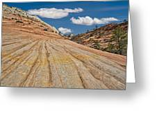 This Is Utah No. 18 - Zions Key Hole Canyon Greeting Card by Paul W Sharpe Aka Wizard of Wonders