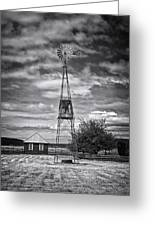 This Is Washington State No. 12 - The American Windmill Greeting Card by Paul W Sharpe Aka Wizard of Wonders