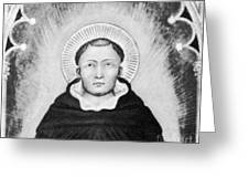 Thomas Aquinas, Italian Philosopher Greeting Card by Science Source