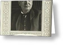 Thomas Edison, American Inventor Greeting Card by Science, Industry & Business Librarynew York Public Library