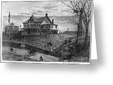 Thomas Edison Residence Greeting Card by Granger