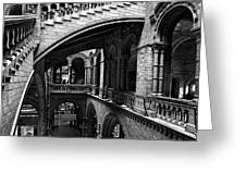 Through The Arches Greeting Card by Martin Williams