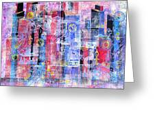 Time In The City Greeting Card by David Raderstorf
