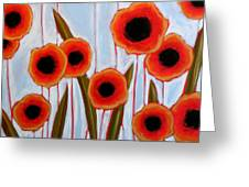 Time To Bloom Greeting Card by Amy Giacomelli