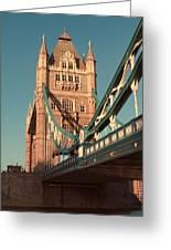 Timeless Tower Bridge Greeting Card by Jasna Buncic