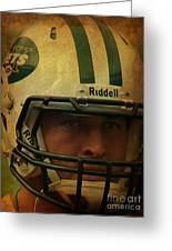 Timothy Richard Tebow - Tim Tebow - New York Jets   Greeting Card by Lee Dos Santos
